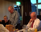 Richard Carmichael speaking at the Rotary Meeting