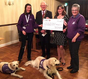 Cheque CaninePartners1