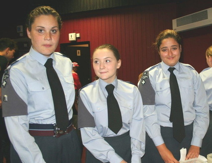 Air Cadets helping at the Proms
