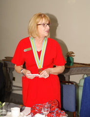 Our District Assistanrt Governor Janet Drewery